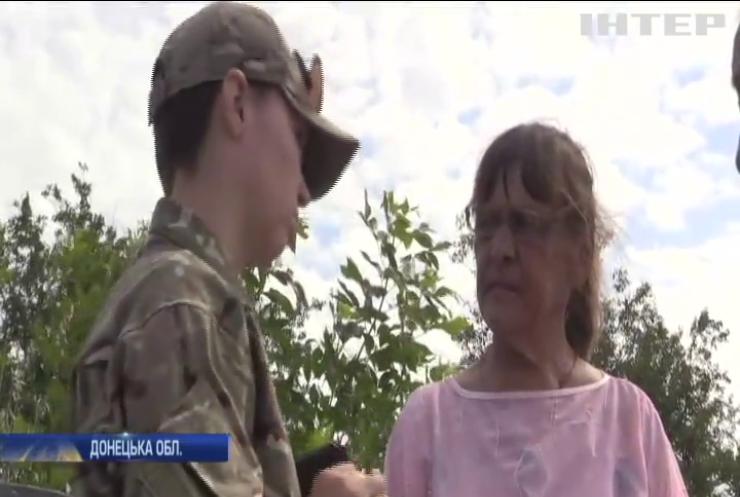 В зоні АТО бойовики під виглядом цивільних ведуть розвідку