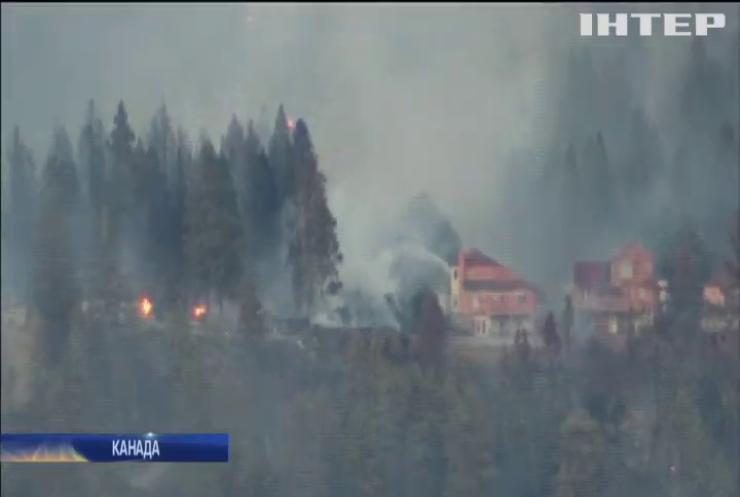 Через лісові пожежі у Канаді евакуювали 40 тисяч людей