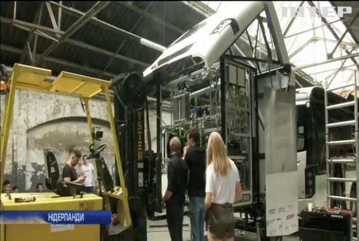 В Нідерландах створили автобус на мурашиній кислоті