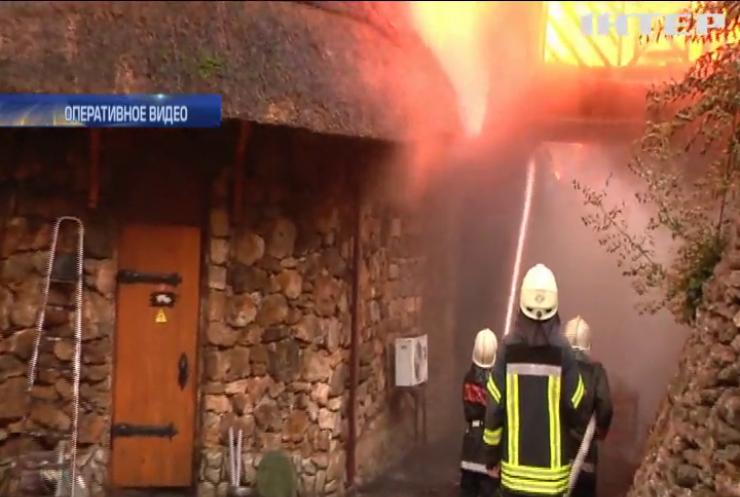 """В Одессе назвали причину пожара на пляже """"Ланжерон"""""""