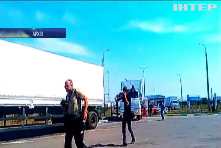 """Росія скерувала на окупований Донбас чергову автоколону """"гумконвою"""""""