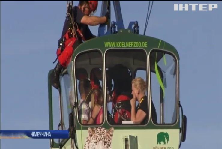 В Німеччині на канатній дорозі застрягли 65 туристів