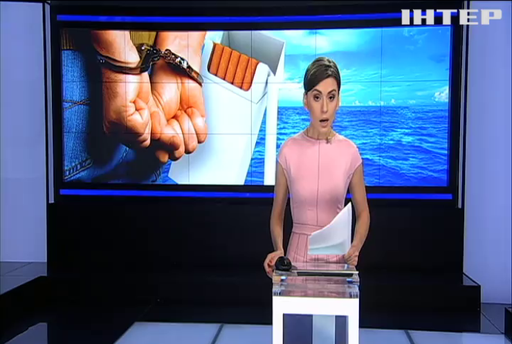 В Черном море задержана крупнейшая за всю историю Украины партия контрабандных сигарет