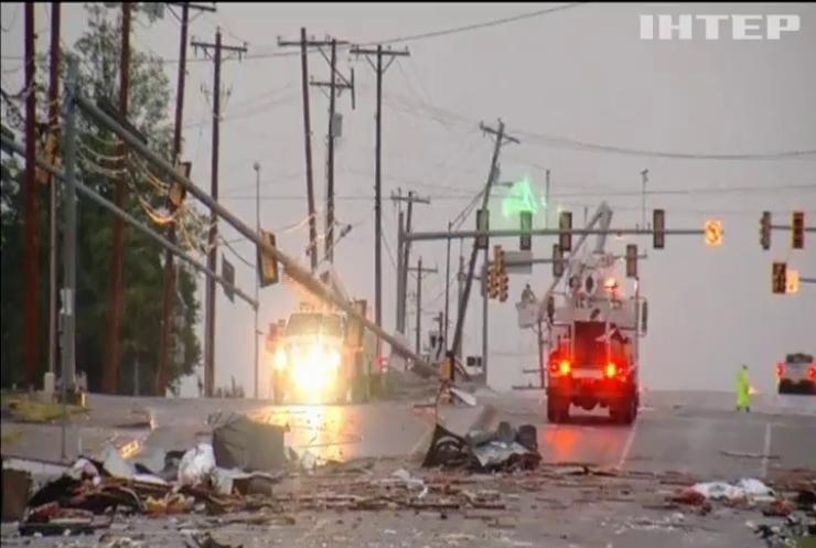 Штат Оклахома постраждав від торнадо (відео)