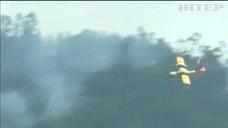 Масштабные лесные пожары приближаются для столице Греции