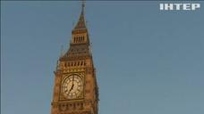 В Лондоне получи и распишись 0 возраст закрывают Биг Бен