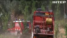 В Португалії нате боротьбу з пожежею вийшло 0 тисячі людей