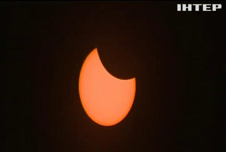 У США повне сонячне затемнення спостерігали мільйони людей (відео)