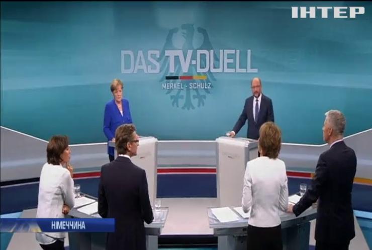 Ангела Меркель перемогла на теледебатах свого суперника Мартіна Шульца