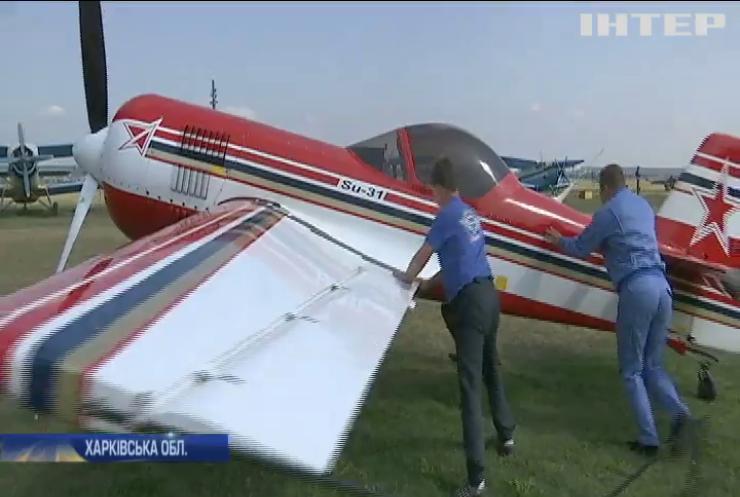 Під Харковом пройшов фестиваль авіації