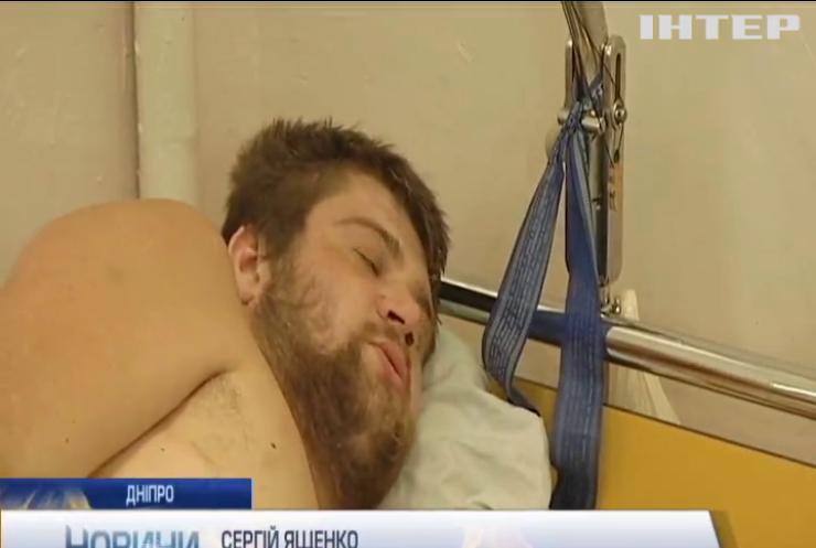 У Дніпро доставили двох бійців з Авдіївки в важкому стані