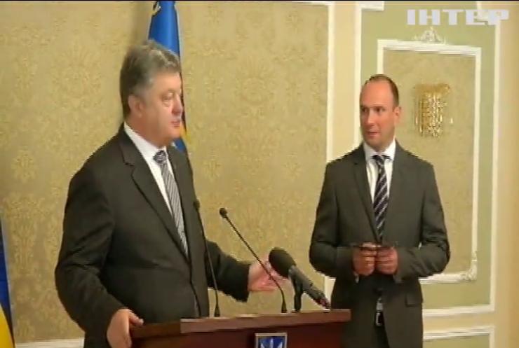 Порошенко назначив головою зовнішньої розвідки Єгора Божко