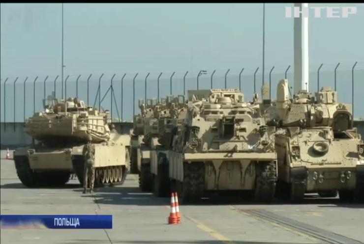 НАТО зміцнює східні кордони Польщі