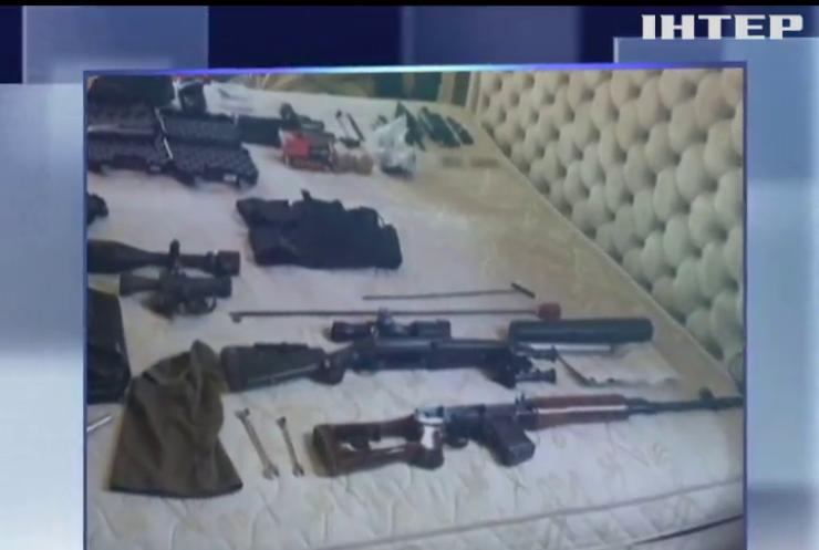 На Херсонщині затримали озброєну банду іноземців
