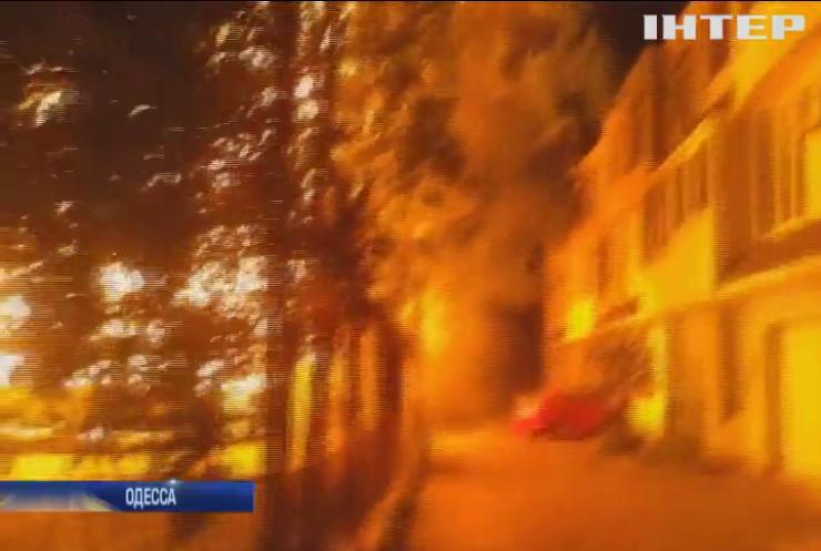 В Одессе сгорели трое детей