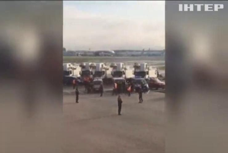 В Париже эвакуировали пассажиров рейса British Airways