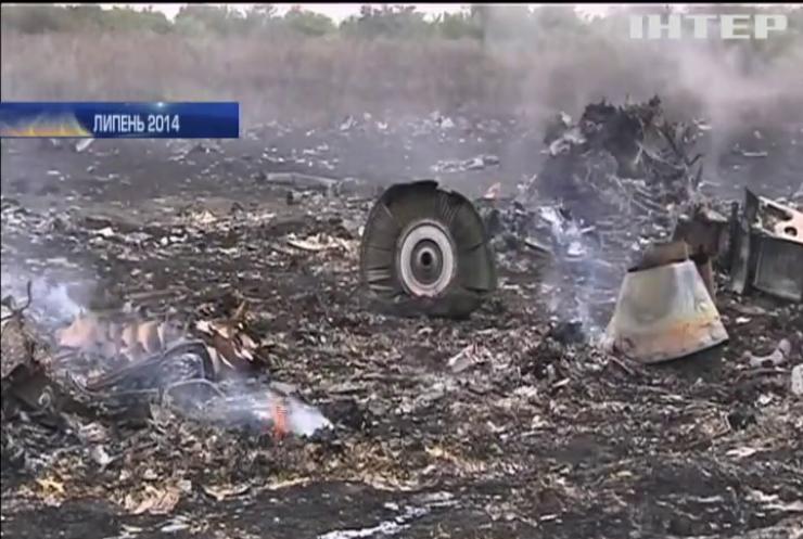 Розслідування катастрофи літака МН-17 спільно фінансуватимуть 5 країн