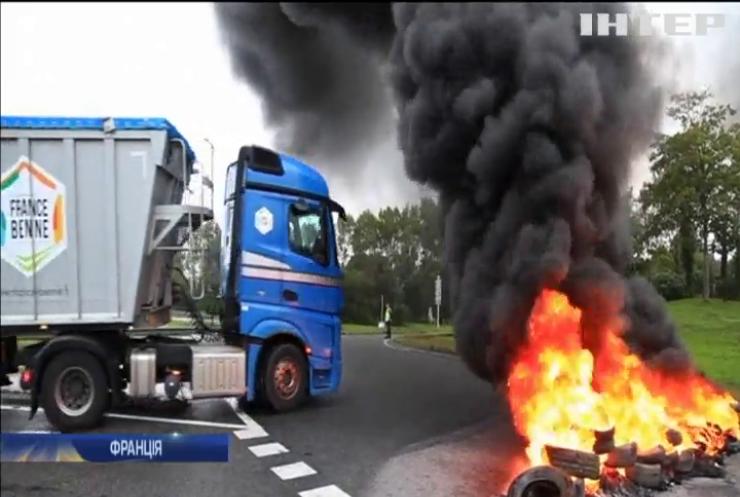 У Франції протести проти трудової реформи призвели до дефіциту пального