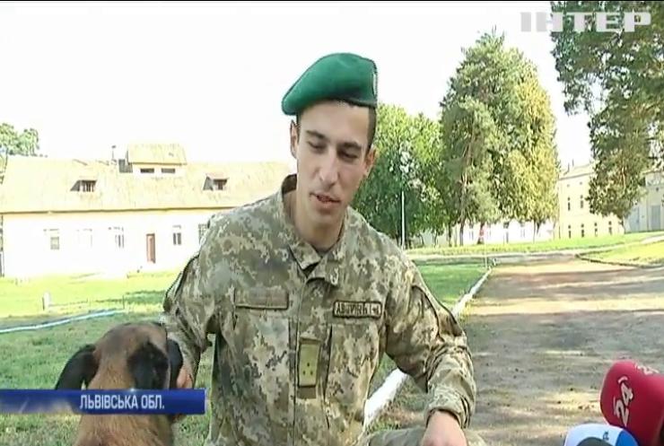 На Львівщині обирають найкращого собаку-прикордонника