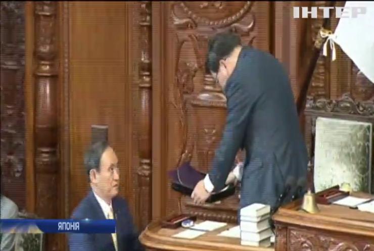 Прем'єр-міністр Японії розпустив парламент