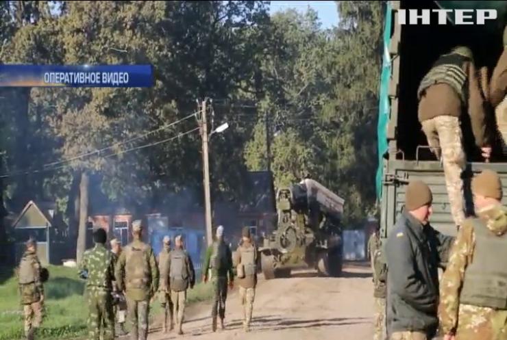 В Калиновку активно возвращаются мирные жители