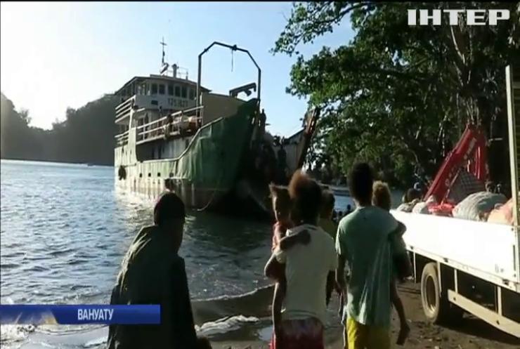 На островах Вануату через вулкан евакуюють місцевих жителів