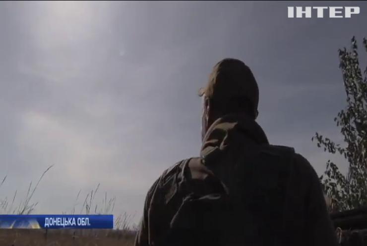 Війна на Донбасі: горіли околиці селища Спартак