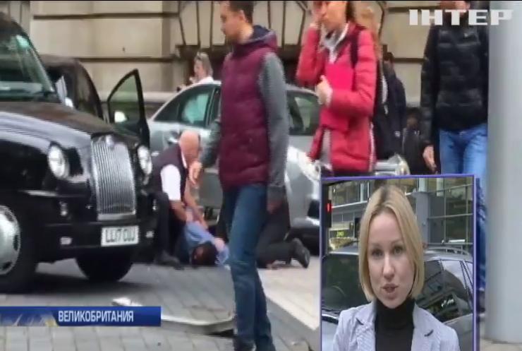 В Лондоне автомобиль наехал на пешеходов