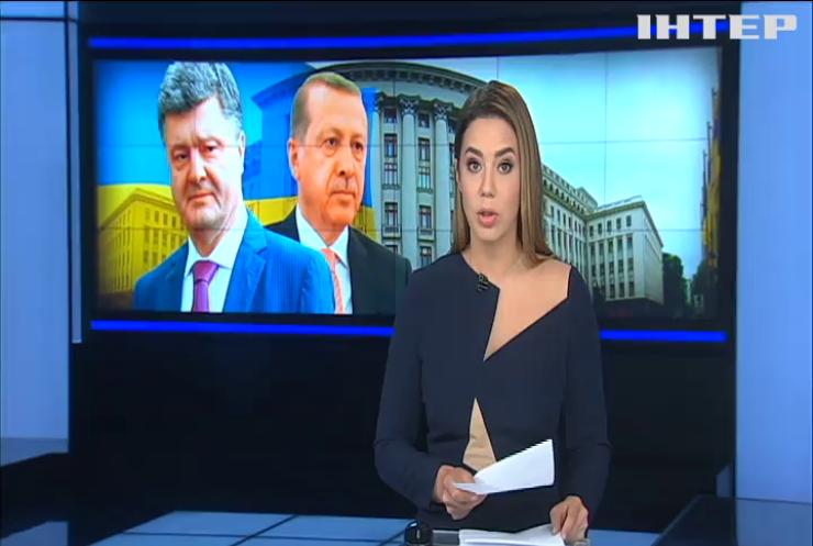 Ердоган обговорить в Києві окупацію Криму