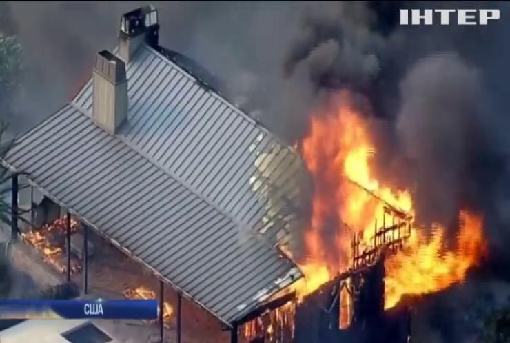 В Каліфорнії у лісових пожежах загинули 10 людей