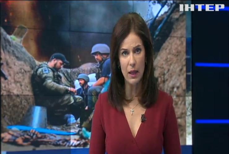 Война на Донбассе: армейцы передали продукты жителям Авдеевки