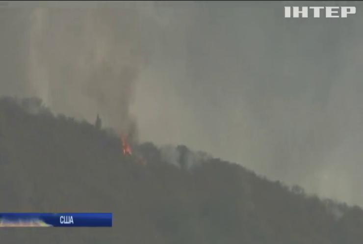 У лісових пожежах в Каліфорнії загинула 21 людина
