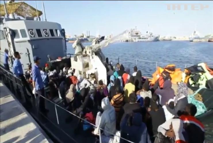 Біля берегів Лівії врятували 75 мігрантів