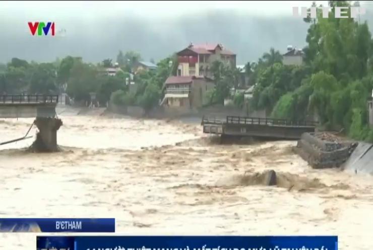 У В'єтнамі через повінь загинули 37 людей