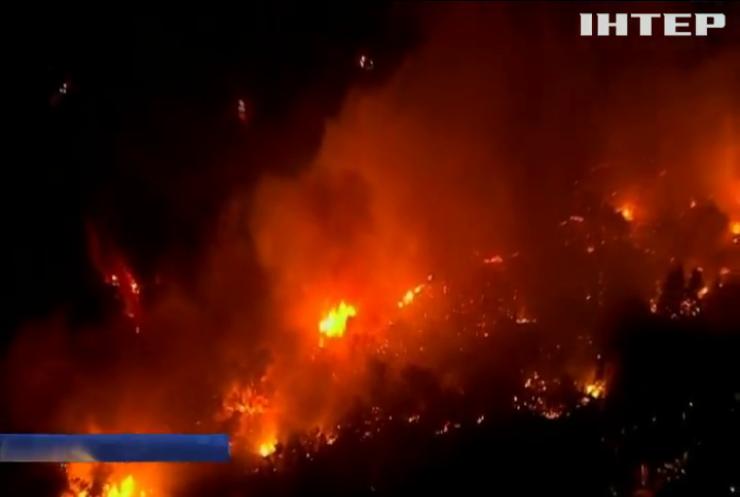 Пожары в Калифорнии: число жертв продолжает расти