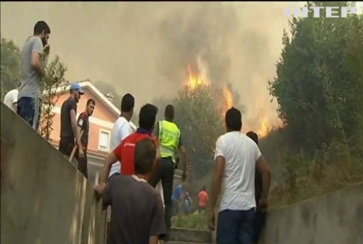 В Іспанії через лісові пожежі загинули двоє людей (відео)
