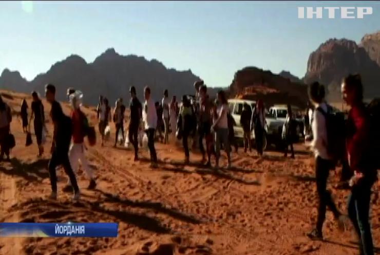 У Йорданії влаштували дискотеку серед пустелі