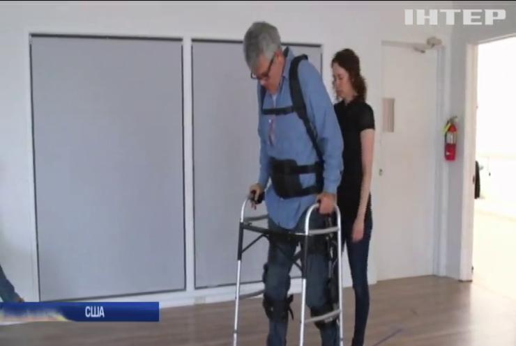 У Каліфорнії вчені створили роботизований екзоскелет