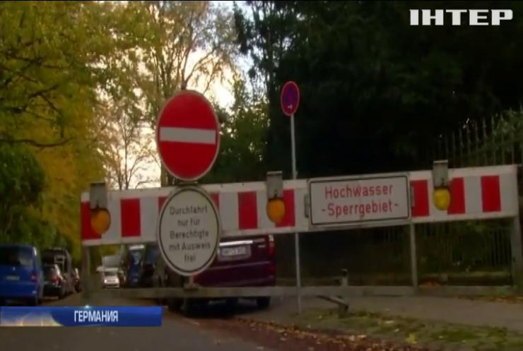 Непогода в Европе: Германия ввела чрезвычайное положение