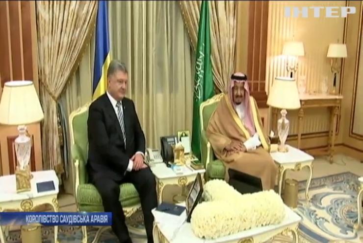 Порошенко закликав арабські держави підтримати кримських татар