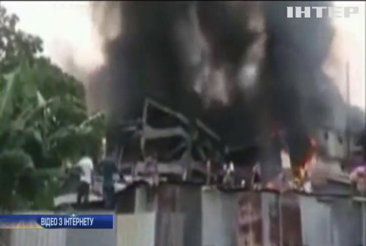 В Індії вибухнула новозбудована електростанція (відео)