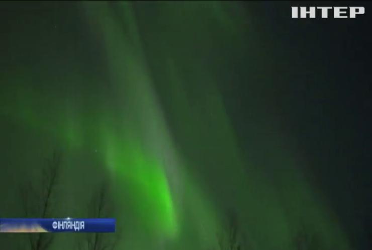 У небі Фінляндії з'явилося унікальне природне явище (відео)