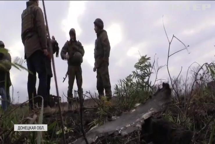 Боевики показательно для российских СМИ обстреливают Донецк