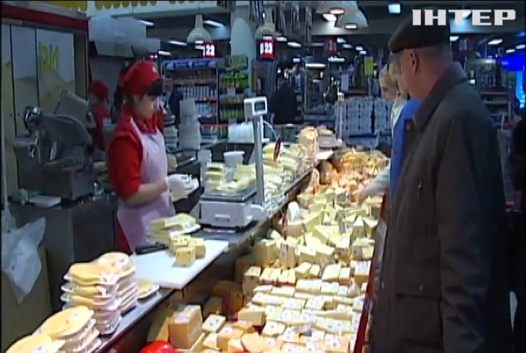 Украина лидирует в Европе по росту цен на продукты