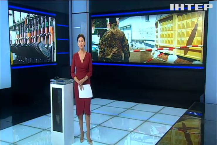 В Херсонской области военнослужащий  устроил стрельбу возле супермаркета