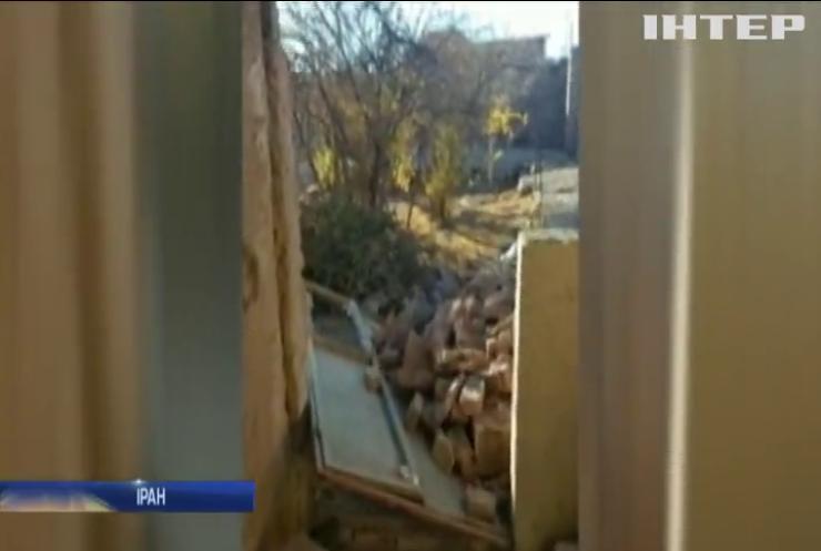 У Ірані землетруси знищили будинки у 8 селах (відео)