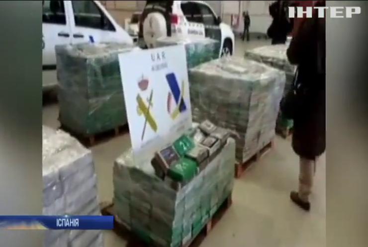 Поліція Іспанії вилучила 6 тонн наркотиків