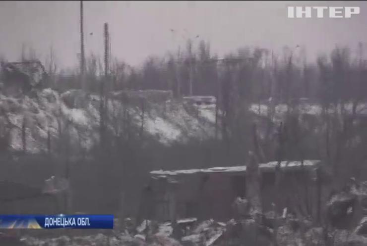 Війна на Донбасі: російські найманці застосували фосфорні міни
