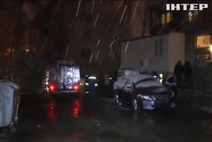 У Харкові вибухнув автомобіль правоохоронця (відео)