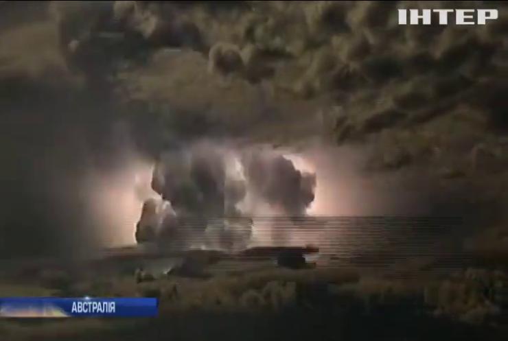 У Австралії зафільмували електричний мегашторм (відео)
